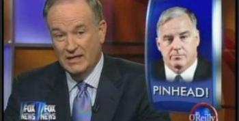 Bill O'Reilly Calls Howard Dean A Pinhead; Roll The Jeremy Glick Tape, Please