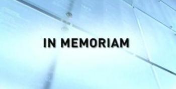 This Week In Memoriam Sept. 20, 2009