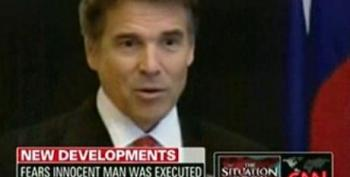 Is Rick Perry Delaying Investigation Into Death Penalty Case For Political Purposes?