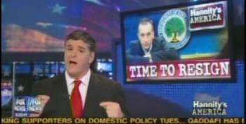 A Desperate Sean Hannity Stoops To Making Up NAMBLA Ties To Jennings