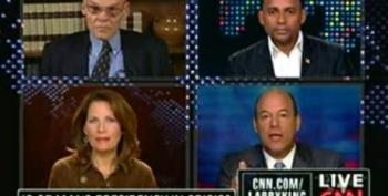 Larry King Live: Michele Bachmann Dodges The Question On Whether The Birthers Are Crazy