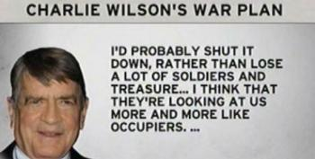 Former Rep. Charlie Wilson Tells Obama: Get Out Of Afghanistan