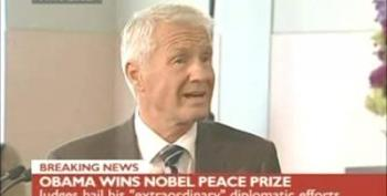 Barack Obama Wins Nobel Peace Prize 2009