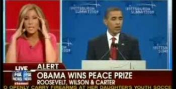 Obama's Nobel Peace Prize: Wingnut Heads Explode All Over Fox News