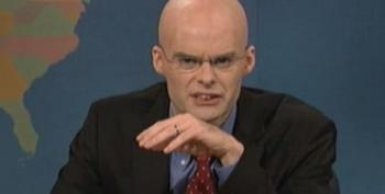 SNL Spoofs Carville: Limbaugh Is 'Mean And Fat'