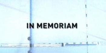 This Week In Memoriam Oct. 11, 2009