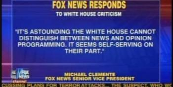 "Fox Runs Defensive ""News Story"" About White House's ""Attacks"" On Fox"