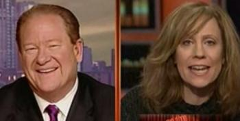 """Lizz Winstead Gives Ed Schultz A Hard Time For """"Showing The Jiffy Pop Thing"""""""