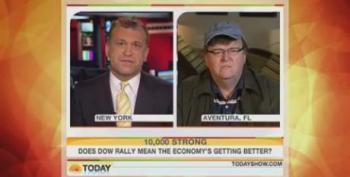 Today Show: Dylan Ratigan And Michael Moore On Wall Street Bonuses