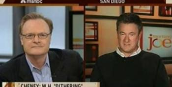 """Joe Scarborough Tells Lawrence O'Donnell To """"Go Sell Your Appliances"""" While Defending Cheney's Iraq War Lies"""