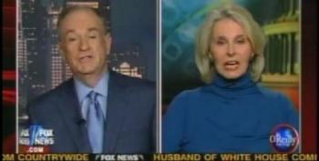 Bill O'Reilly Has Sally Quinn On To Sniff At That Horrid Alan Grayson, Socialite Pariah