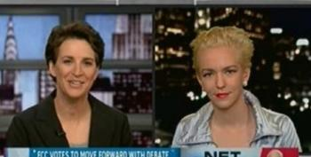 The Rachel Maddow Show: McCain Pushes Telecom Agenda Against Web Freedom
