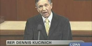 "Dennis Kucinich ""Time To Ask Ourselves Is The 2 Party System Capable To Represent The American People!"