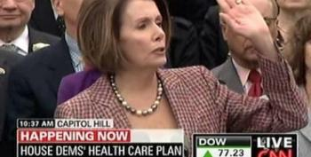 Pelosi Blames Insurance Companies For Heckling Her