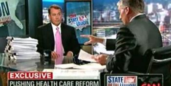 Boehner On The GOP Health Care Plan: We Do Not Attempt To Cover 46 Million More Americans