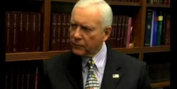 The Hatch Truth: GOP Blocking Health Care To Prevent Permanent Democratic Majority