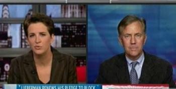 The Rachel Maddow Show: Ned Lamont On Joe Lieberman's Political Allegiance