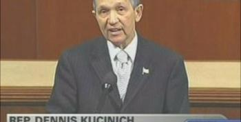 "Dennis Kucinich ""Why Is It We Have Finite Resources For Health Care But Unlimited Money For War?"