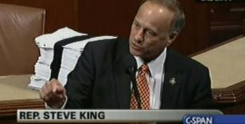 """Rep. Steve King: All Americans Have Health Care And Health Care Bill Will """"Steal Our Freedom"""""""