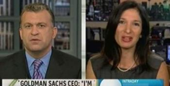 "Dylan Ratigan: Is Goldman Sachs Doing ""God's Work""?"