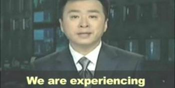 Chinese Government Clearly Upset With Obama's Message To The People