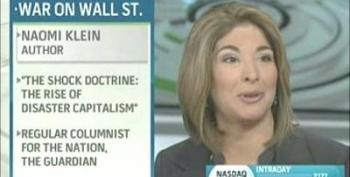 We Used To Call Them Zombie Banks! They're Really Vampire Banks! Naomi Klein