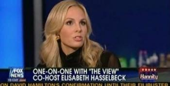 """Hasselbeck On KSM """"They Chucked Some Water On Him""""--Hannity """"I'm Glad We Waterboarded Him"""""""