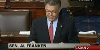 Sen. Al Franken Explains His Support Of Senate Health Care Bill