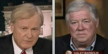 Chris Matthews Allows Haley Barbour To Tout Mississippi As A Model For Health Care Reform