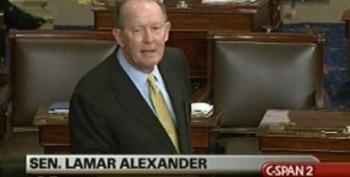 "Sen. Lamar Alexander Calls Medicaid A ""Medical Ghetto"""