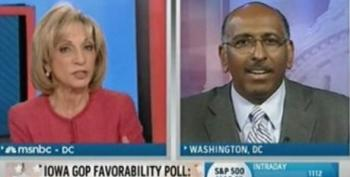 "Andrea Mitchell Reminds Michael Steele Palin Quit After Calling Her A ""Successful Governor"""