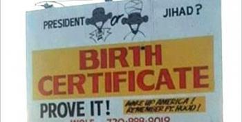 Anti-Obama Billboard: President? Or Jihad?