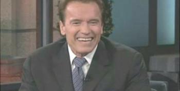 Arnold Schwarzenegger Announces California's New Lieutenant Governor On Jay Leno Show