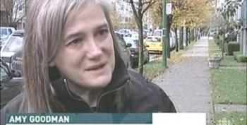 Amy Goodman Detained At The Canadian Border!