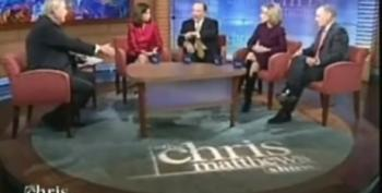 Andrea Mitchell Is The Voice Of Reason On The Chris Matthews Show