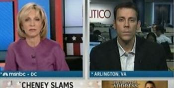 Jim VandeHei Plays Stenographer For Dick Cheney--Andrea Mitchell Reports It As News