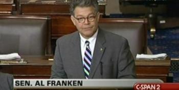 Sen. Al Franken Debates Health Care Reform