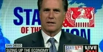 Romney: We Need To Put The Brakes On The Stimulus Plan