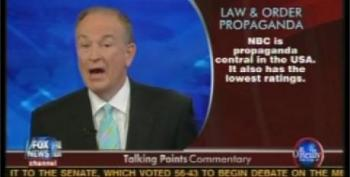Bill O'Reilly Outraged! Outraged! That 'Law And Order' Character Blames Fox Talkers For Hate Crimes