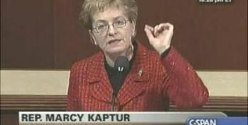 """Maybe Someday Real Banking Reform Will Be Considered By This Congress"""" Congresswoman Marcy Kaptur"""