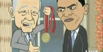 Super News Slams Obama On Nobel Prize