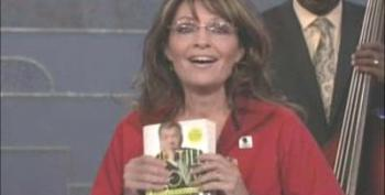 Sarah Palin Reads William Shatner On Conan O'Brien Show