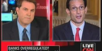 Eric Cantor Still Claiming Wall Street Is Over-Regulated