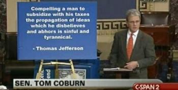 Tom Coburn Takes Thomas Jefferson Quote On Religious Freedom Out Of Context