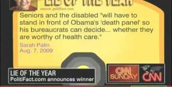 """Sarah Palin Wins """"Top Lie Of 2009""""!"""