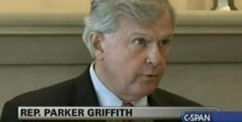 Parker Griffith's Press Conference On His Switch To The GOP