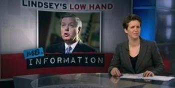 Rachel Maddow Hits Lindsey Graham For Listing African American Population Among Problems Facing South Carolina