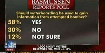 Fox News Shows Rasmussen Poll Indicating Most Want Underwear Bomber Waterboarded