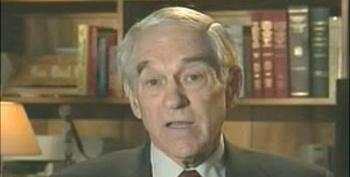"""Ron Paul """"I Can't See Any Difference Between Obama's And Bush Foreign Policy"""""""