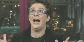Rachel Maddow On David Letterman Show